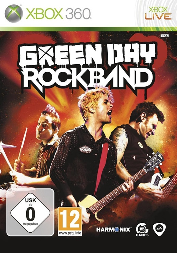 Cover zu Green Day: Rock Band