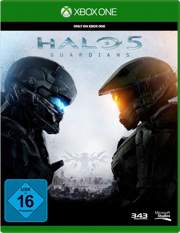 Cover zu Halo 5: Guardians