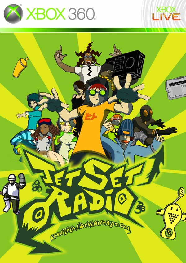 Cover zu Jet Set Radio HD