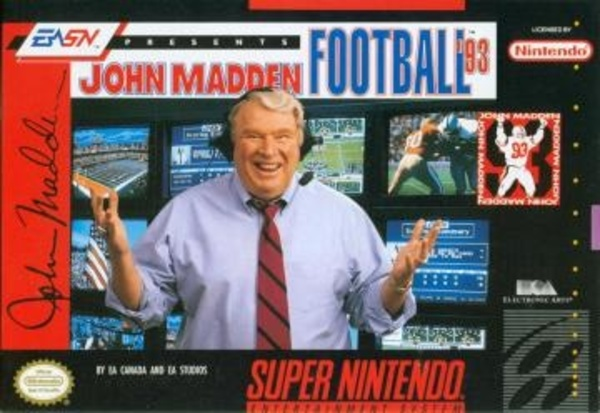 Cover zu John Madden Football '93