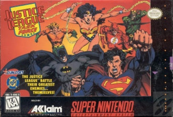 Cover zu Justice League Task Force