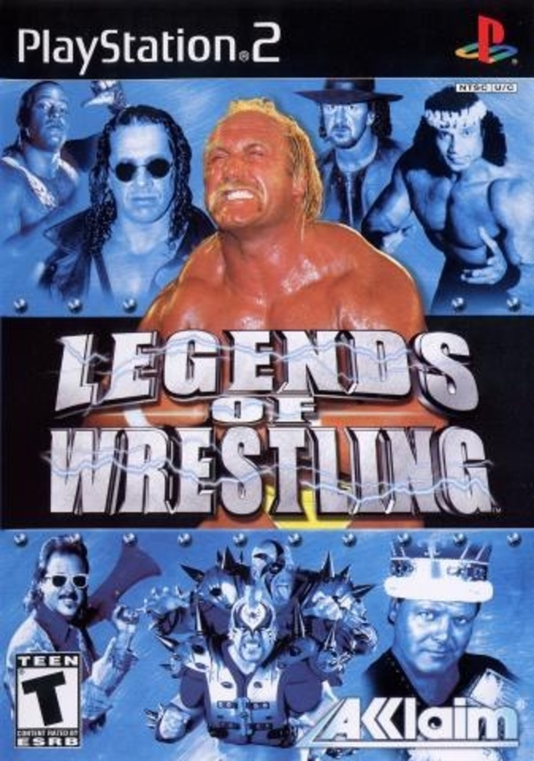 Cover zu Legends of Wrestling