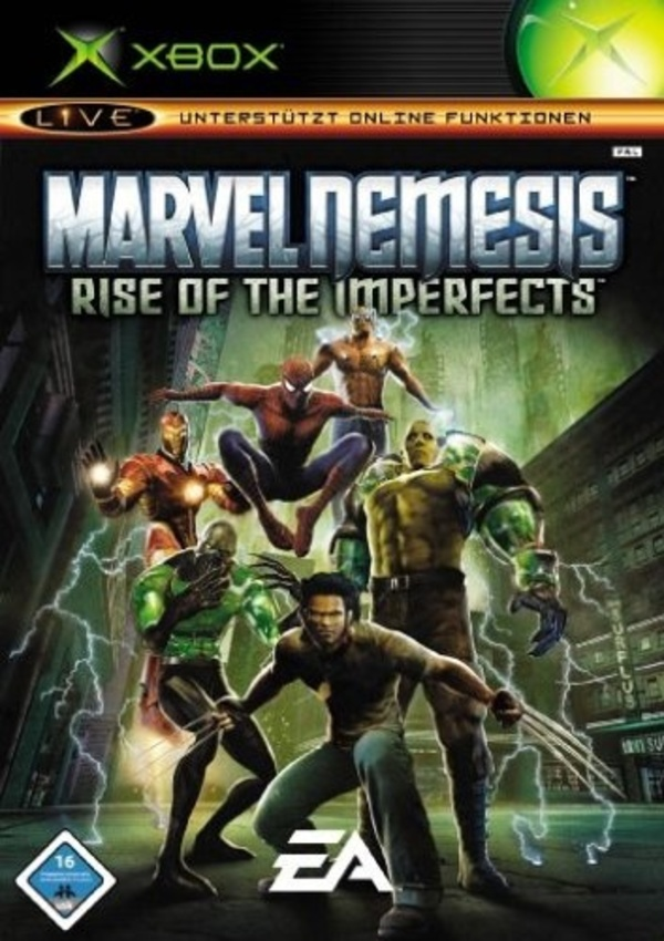 Cover zu Marvel Nemesis: Rise of the Imperfects