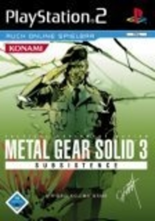 Cover zu Metal Gear Solid 3: Subsistence