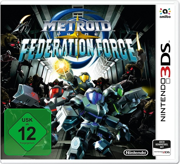 Cover zu Metroid Prime: Federation Force