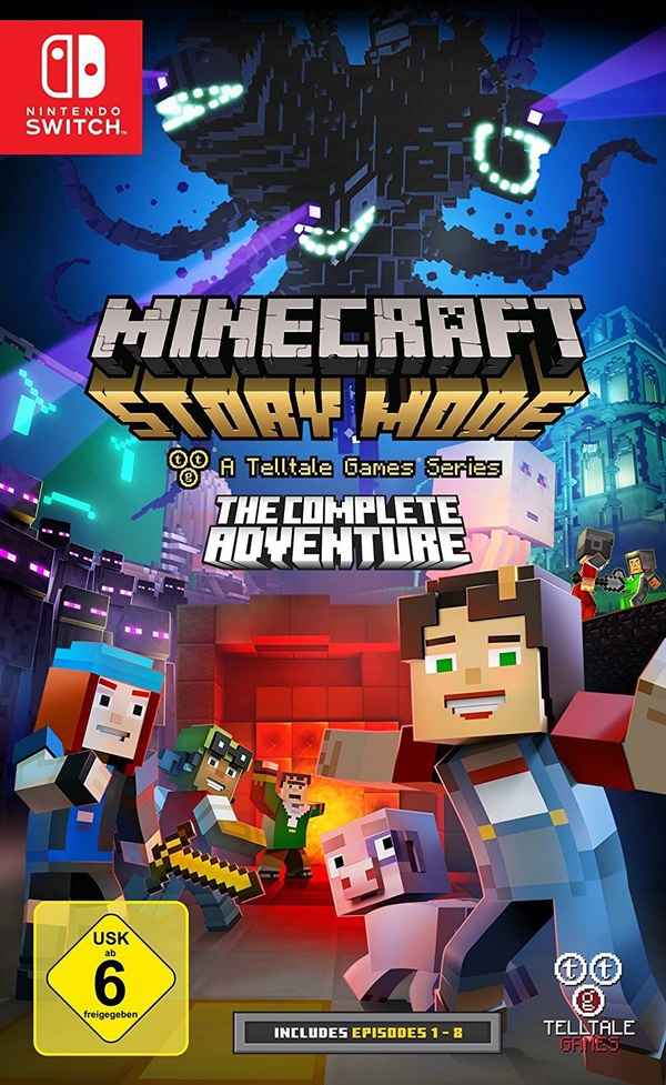 Cover zu Minecraft: Story Mode