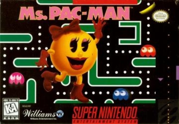 Cover zu Ms. Pac-Man