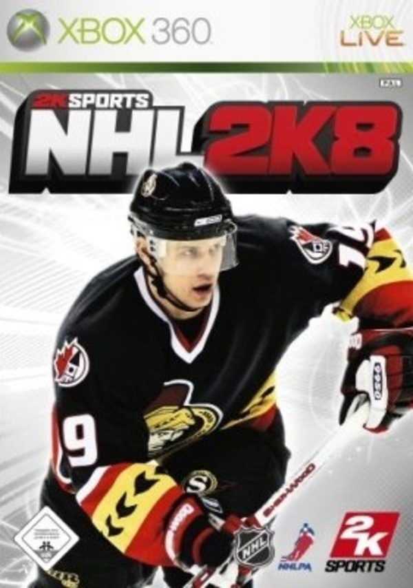 Cover zu NHL 2K8