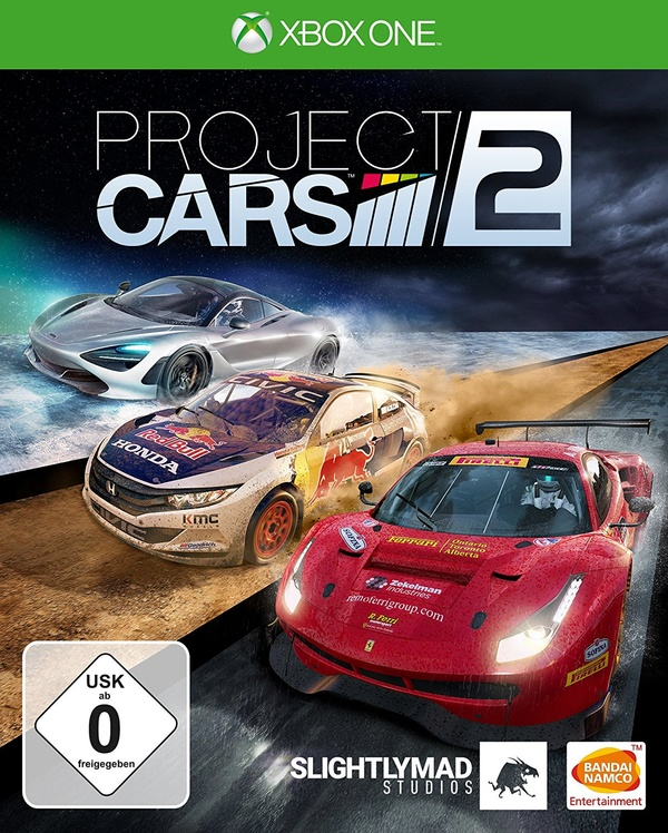 Cover zu Project Cars 2