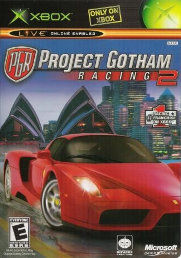 Cover zu Project Gotham Racing 2