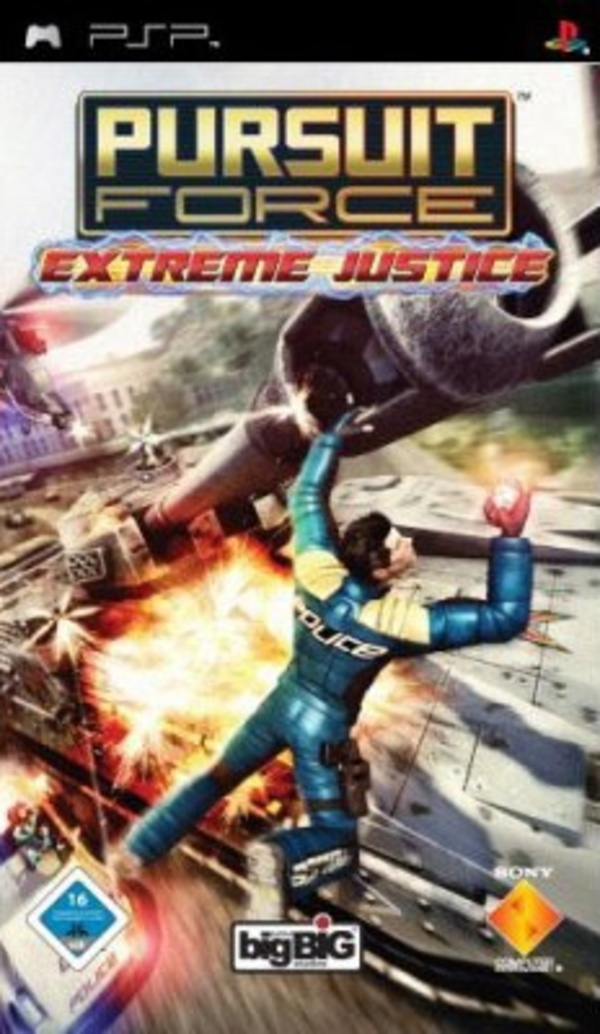 Cover zu Pursuit Force: Extreme Justice