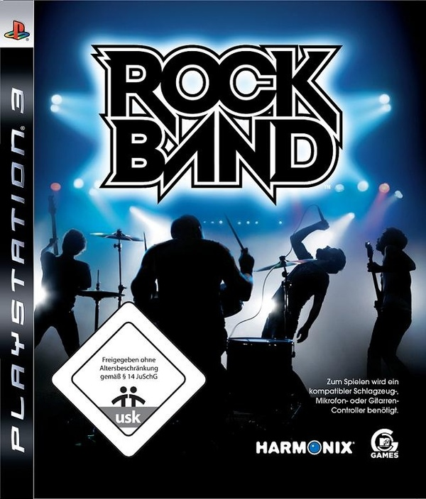 Cover zu Rock Band