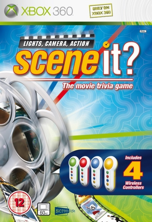 Cover zu Scene It? Lights, Camera, Action
