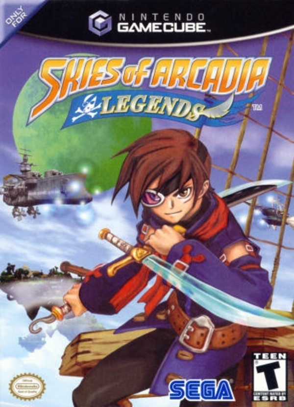 Cover zu Skies of Arcadia Legends