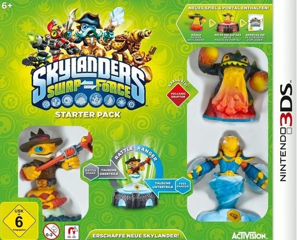 Cover zu Skylanders: Swap Force