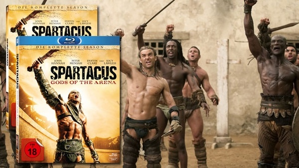 Spartacus: Gods of the Arena - Box-Sets und DVD-Boxen gewinnen