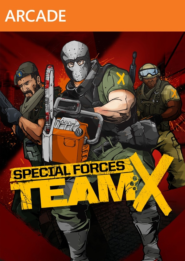 Cover zu Special Forces: Team X
