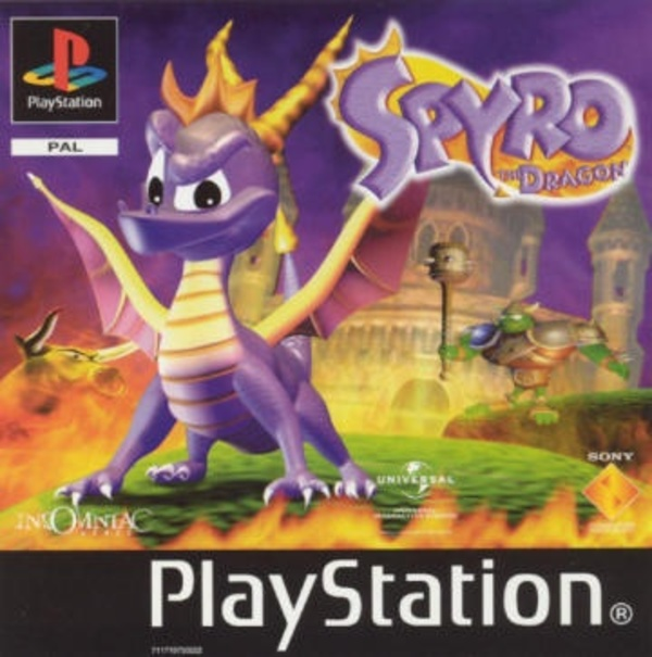 Cover zu Spyro the Dragon