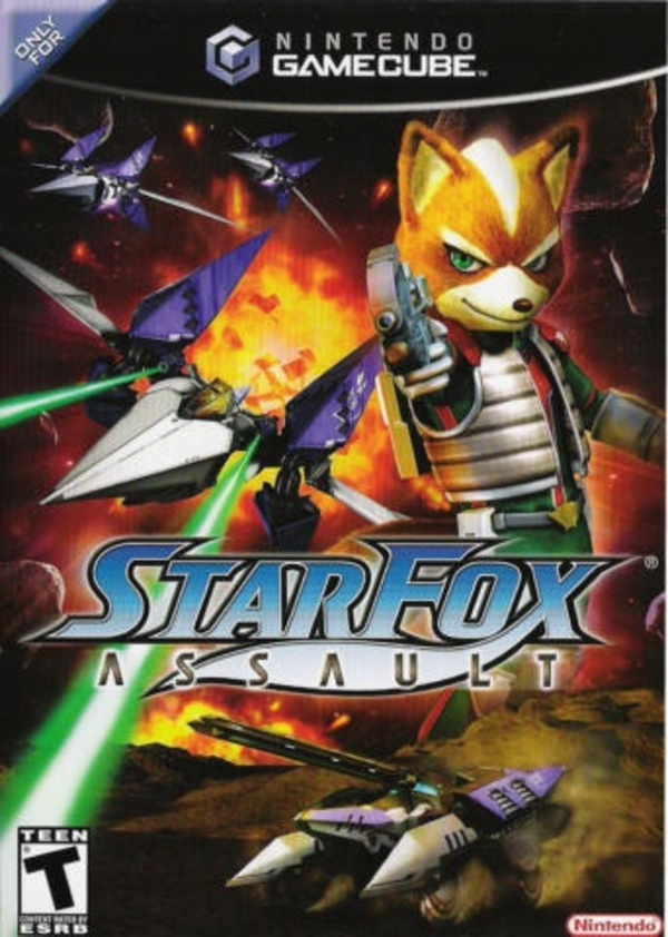 Cover zu Star Fox Assault