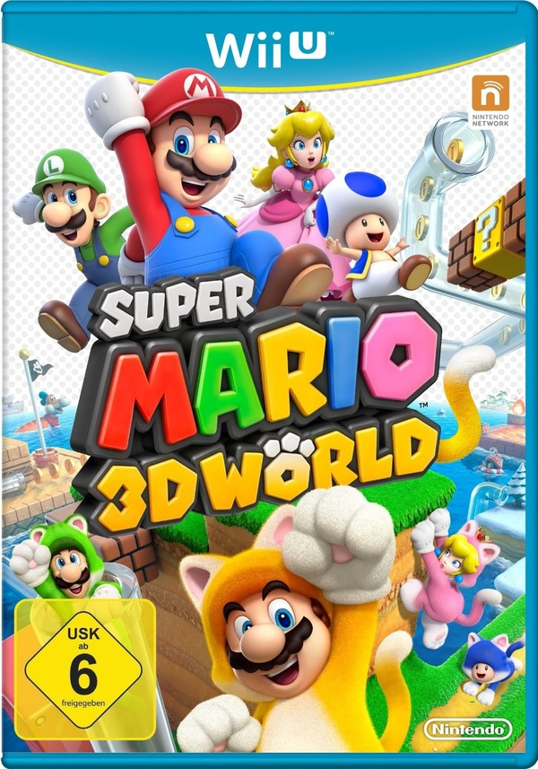 Cover zu Super Mario 3D World