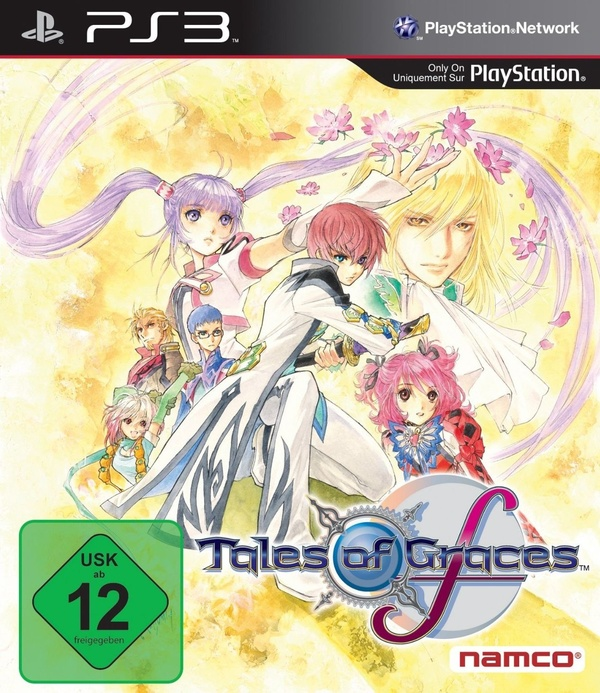 Cover zu Tales of Graces F