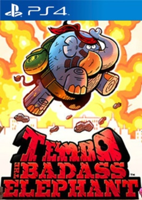 Cover zu Tembo The Badass Elephant
