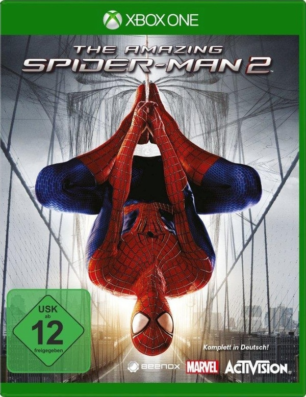 Cover zu The Amazing Spider-Man 2