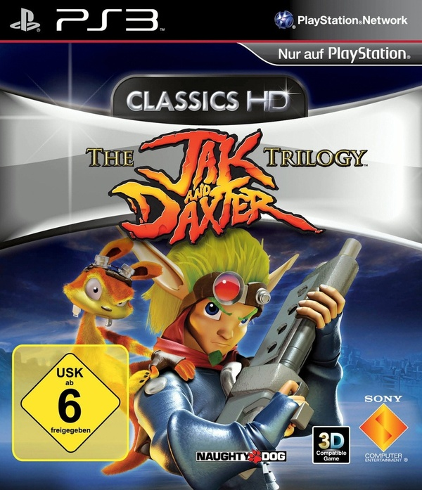 Cover zu The Jak and Daxter Trilogy