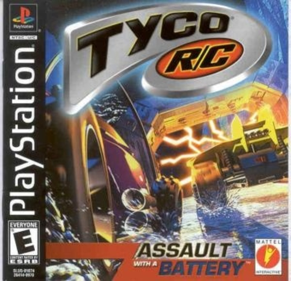 Cover zu Tyco R/C: Assault with a Battery