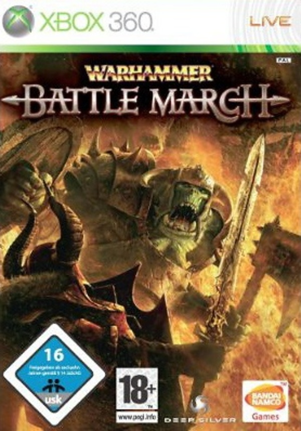 Cover zu Warhammer: Battle March