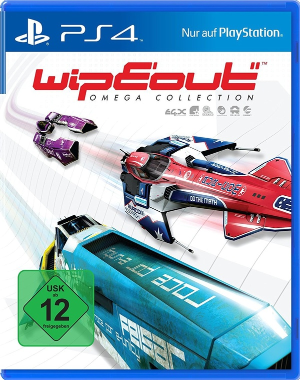 Cover zu WipEout Omega Collection