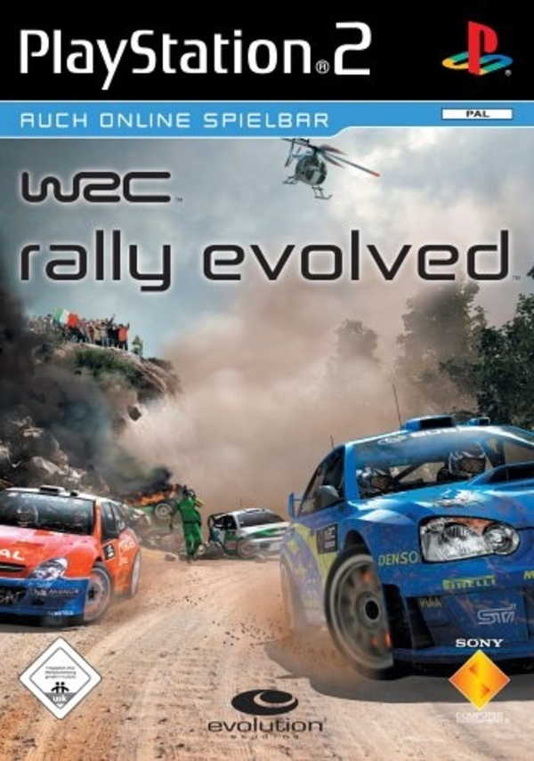 Cover zu WRC Rally Evolved