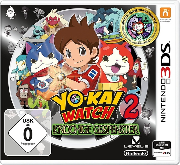 Cover zu Yo-Kai Watch 2
