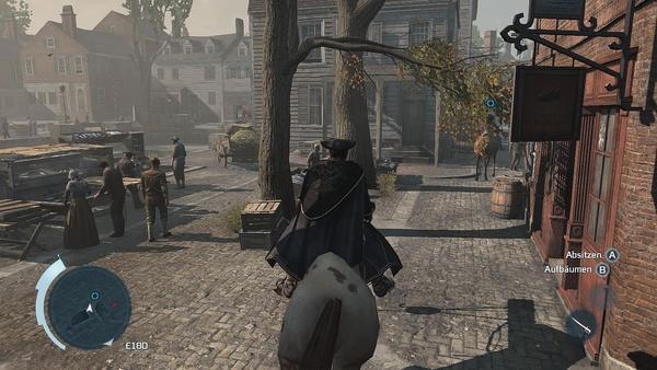 Screenshot zu Assassin's Creed 3 (Wii U) - Screenshots aus der Wii-U-Version