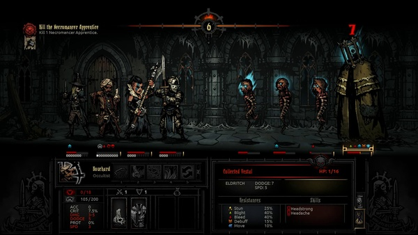 Screenshot zu Darkest Dungeon (PS4) - Screenshots