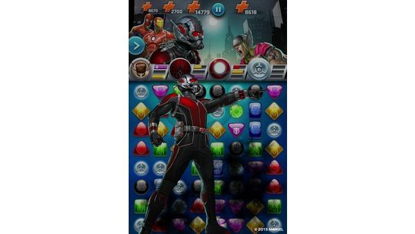 Screenshot zu Marvel Puzzle Quest (iOS) - Screenshots der Mobile-Version