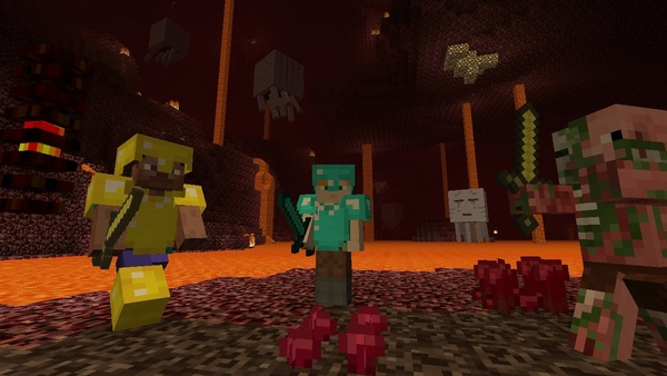 Screenshot zu Minecraft (Wii U) - Screenshots der Wii-U-Version