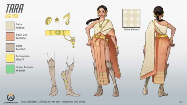 Screenshot zu Overwatch (PS4) - Konzeptbilder zum Fan-Charakter Tara