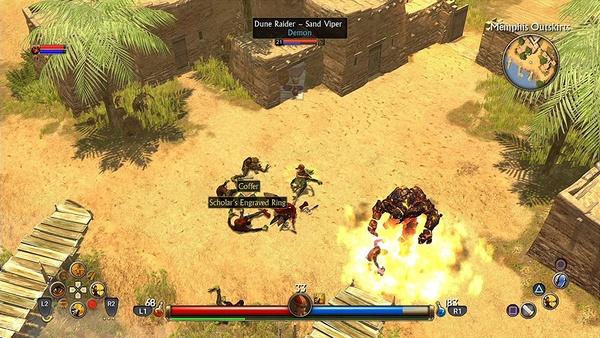 Screenshot zu Titan Quest (PS4) - Screenshots aus der Konsolen-Version