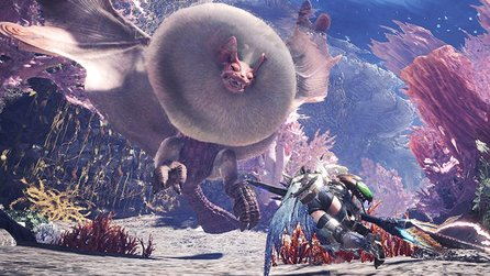 Monster Hunter World - Neues Gameplay-Video zeigt das exotische Korallen-Hochland