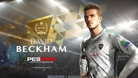 PES 2018 - Trailer zeigt David Beckham als PES Legende