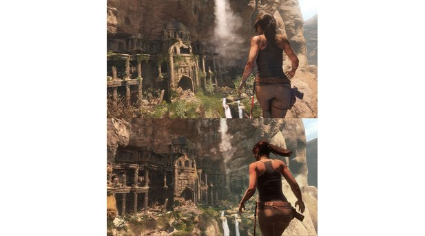 Rise of the Tomb Raider - Xbox One vs. Xbox 360