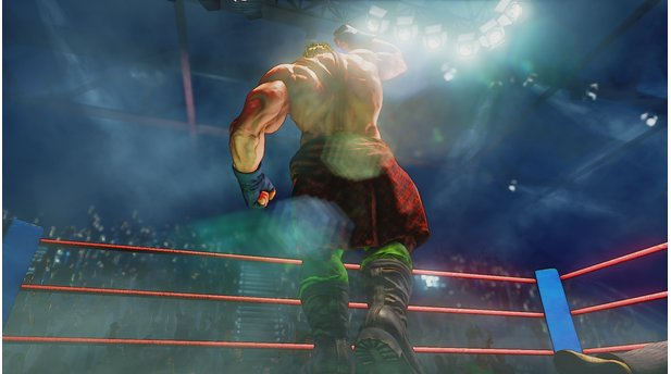 Street Fighter 5 - Screenshots aus dem Storymodus