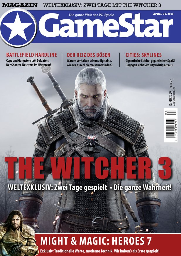 Heftcover GameStar 04/2015 - Magazin-Version