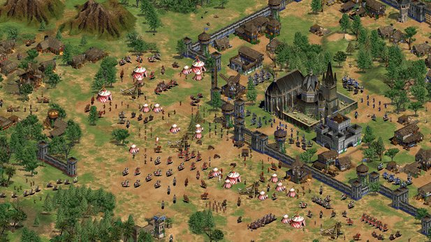Age of Empires 2 gibt's bereits auf Steam - in der HD-Version.