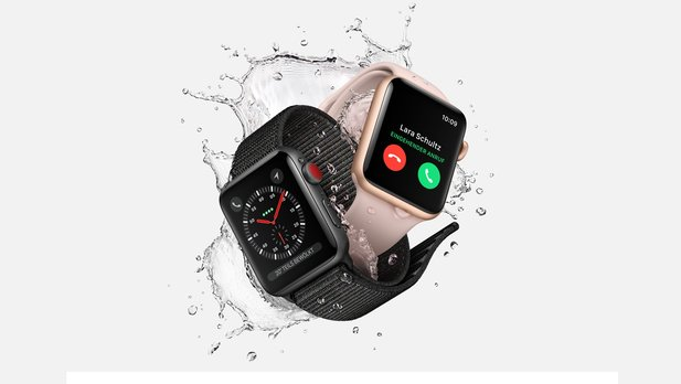 In den USA droht Apple eine Sammelklage wegen herausfallender Displays bei der Apple Watch (Bild: Apple Watch Series 3).