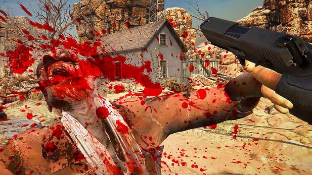 Arizona Sunshine - Teaser-Trailer zum Virtual-Reality-Zombie-Shooter