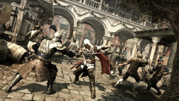 Assassin's Creed 2 spielt in Italien.