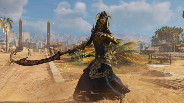 Assassin's Creed: Origins - Trailer zum Animus Control Panel mit Cheat-Funktionen