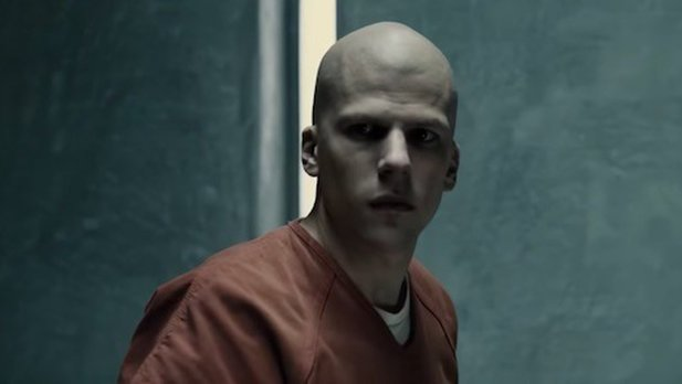 Jesse Eisenberg als Schurke Lex Luther in Batman v Superman.